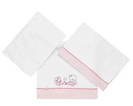 Постельное белье для девочки Одежда для девочек 0-2 BRUMS Италия 123BCLY001 Розовый
