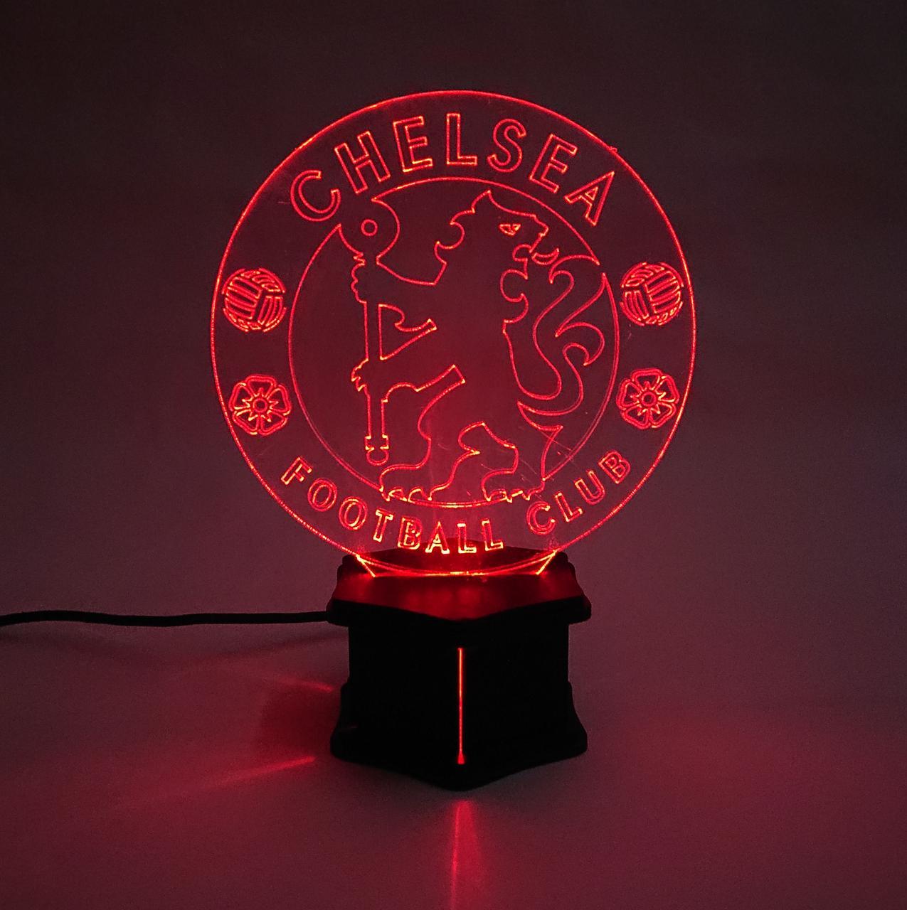3D ночник Челси №33