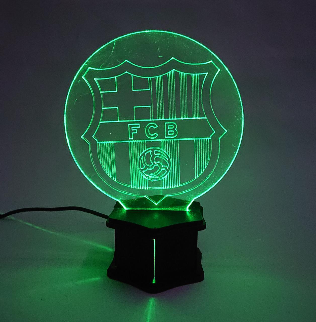 3D ночник Барселона №34