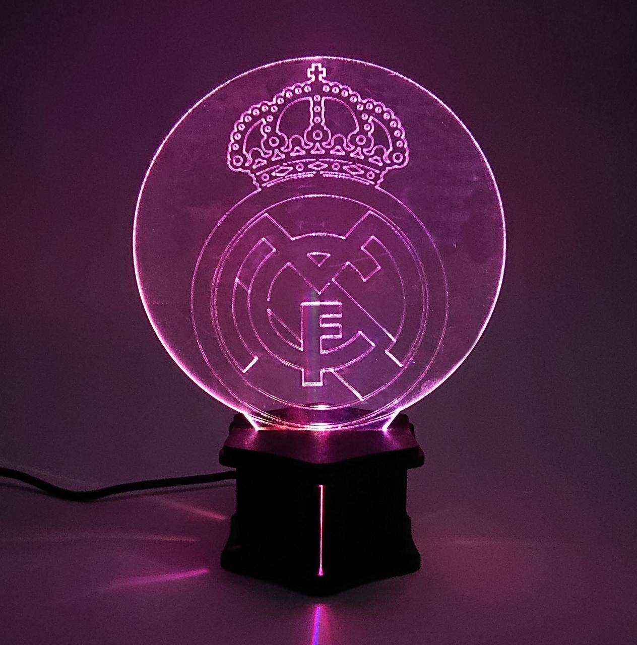 3D ночник Реал Мадрид №38