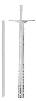 Дюбель для крепления изоляции с пластиковым стержнем LZK-P