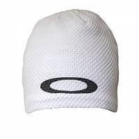 Шапка Oakley вязаная с флисовой подкладкой White