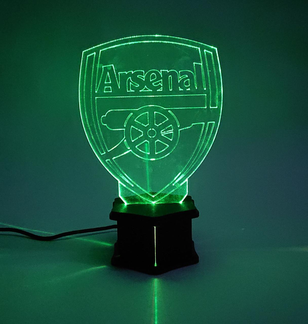 3D ночник Арсенал №40