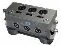 Кондуктор П-образный улучшенный для конфирматов с упором 25-50-75мм х 5-7мм под ДСП 18мм, фото 1