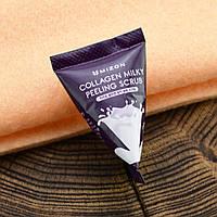 Mizon Скраб для лица с коллагеном и молочным белком Collagen Milky Peeling Scrub