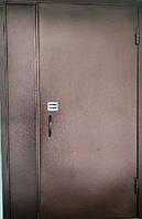Дверь противопожарная наружная утепленная ЕІ-30, ЕІ-60 с кодовым замком 2100*1400