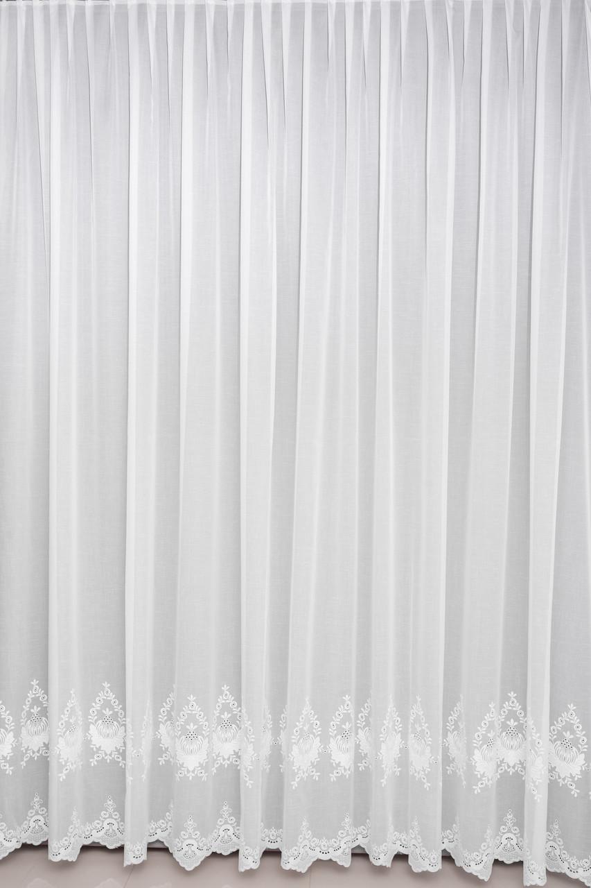 Тюль Турция белая , беж , пудра , молочная  на окна хорошего качества ( обработка сторон + 40 грн.)