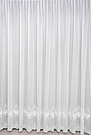 Тюль Турция белая , беж , пудра , молочная  на окна хорошего качества ( обработка сторон + 40 грн.), фото 1