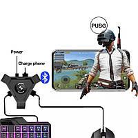 Геймпад P5 клавиатура и мышка c подключением по Bluetooth ver:4.1 для мобильных игр Pubg Call Of Duty StandOFF