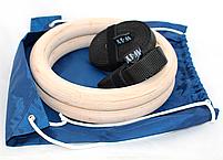 Гімнастичні кільця, для кросфіта, фото 4