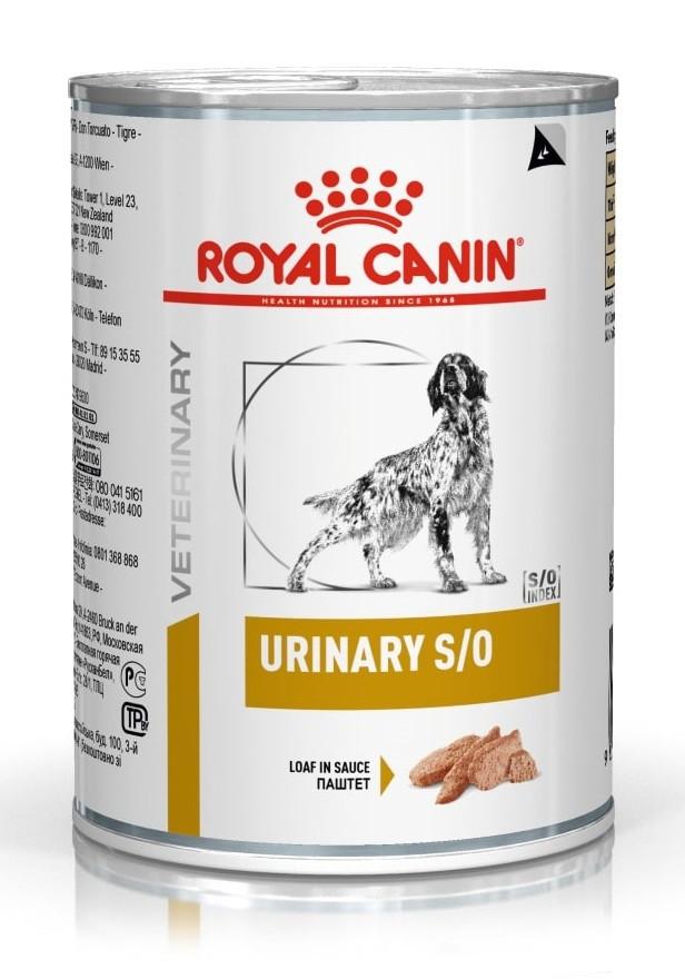 Консерви для собак Royal Canin Urinary при сечокам'яній хворобі 410 г