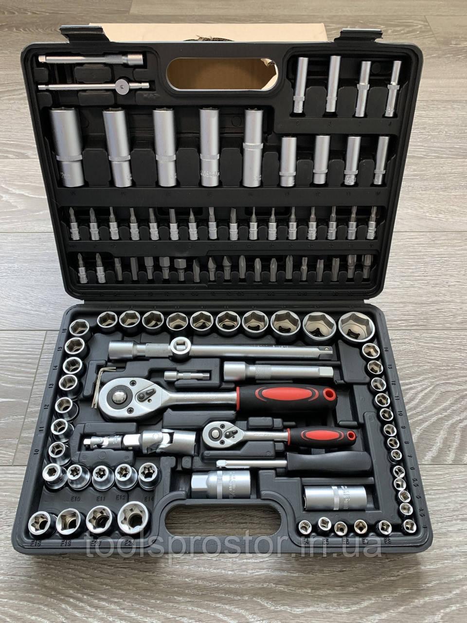 Набор ключей головок инструментов LEX 108 ел набір ключів для авто дома автоинструмент