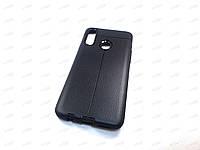 Чехол Auto Focus Samsung Galaxy A20S (черный)