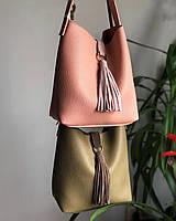 Вместительная, небольшая, аккуратная сумка-мешок
