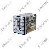 Реле FINDER 55.34.8.024.0054, 24VAC, 7А/250VAC 7А/30VDC, фото 2