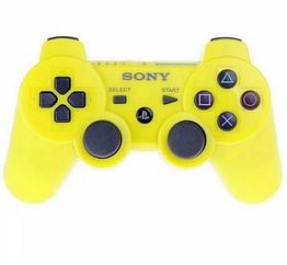 Джойстик PS3 Bluetooth dualshock Blister case / Джойстик для сони плейстейшен 3 желтый
