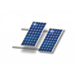 Готовая монтажная конструкция Walraven для 2-х солнечных батарей (на наклонную кровлю)
