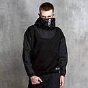 Худи-Анорак мужской черный Кабал  от бренда ТУР, фото 2