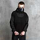 Худи-Анорак мужской черный Кабал  от бренда ТУР, фото 3