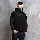 Худи-Анорак мужской черный Кабал  от бренда ТУР, фото 4