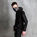 Худи-Анорак мужской черный Кабал  от бренда ТУР, фото 5