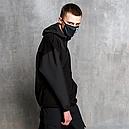 Худи-Анорак мужской черный Кабал  от бренда ТУР, фото 7