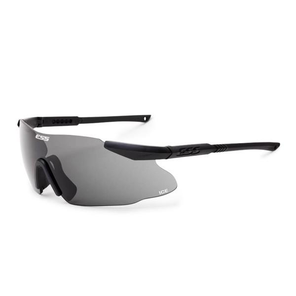 Тактичні окуляри ESS ICE. 3 лінзи. Чорні