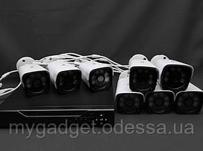 Комплект видеонаблюдения на 8 камер AHD KIT FullHD