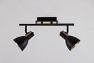 Люстра потолочная на 2 лампы 06-8626/2 FGD+BK, фото 2