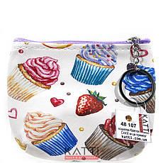 48107 кошелек-брелок KATTi малый CAKE цветной прямоугольный в ассортименте 12х9см, фото 2