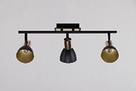 Люстра потолочная на 3 лампы 06-8626/3 FGD+BK, фото 3