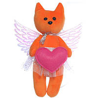 Мягкая игрушка Ангелочек 3 лисичка