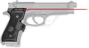 Лазерный целеуказатель Crimson Trace LG-402M на рукоять для BERETTA 92/96/M9. Цвет - Красный