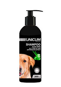 Шампунь UNICUM premium для собак с алое вера, 200 мл