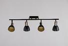 Люстра потолочная на 4 лампы 06-8626/4 FGD+BK, фото 2
