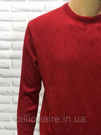 Чоловічий тонкий шерстянний светр, фото 2