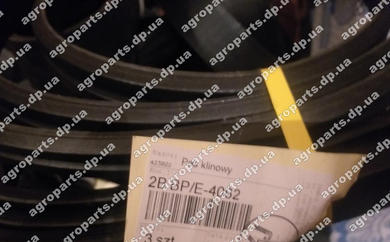 Ремень 2В BP 4062 усиленный двух ручейный  pas Sanok Rubber 2НВ-4062 belt Стомил