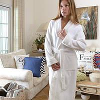 Женский махровый халат CASUAL AVENUE Chicago IVORY Кремовый  L, фото 1