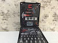 Набор ключей LEX 186CC-2  ( 186шт )     C45 инструментальная сталь и Cr-V (хром-ванадый)