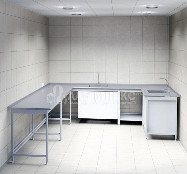 Столы-мойки лабораторные СМЛ-1. СТАНДАРТ