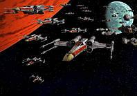 STAR WARS: Космический корабль, масло, холст,  50 х 40 см.