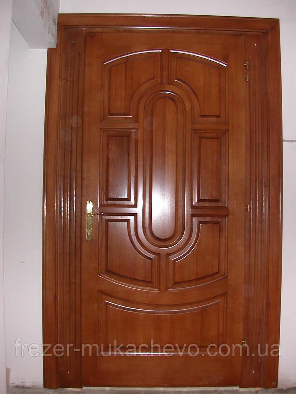 Двері міжкімнатні  з масиву, серія  Америка