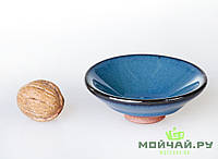 Чашка #2, конус, глина с глазурью., фото 1