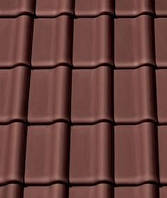 Черепица керамическая (Креатон Баланс) Creaton Balance Nuance тёмно красный - коричневый ангоб., фото 1