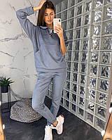 Костюм женский замшевый хаки, серый, пудра, 42-44, 46-48, фото 1