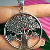 Большой серебряный кулон Дерево Жизни - Кулон мужской Древо Жизни серебро, фото 5