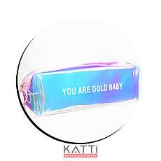 48109 косметичка KATTi средняя Единорог полу-прозрачная отражающая блок 5х6х19,5см, фото 3