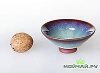 Чашка #4, конус, глина с глазурью., фото 1