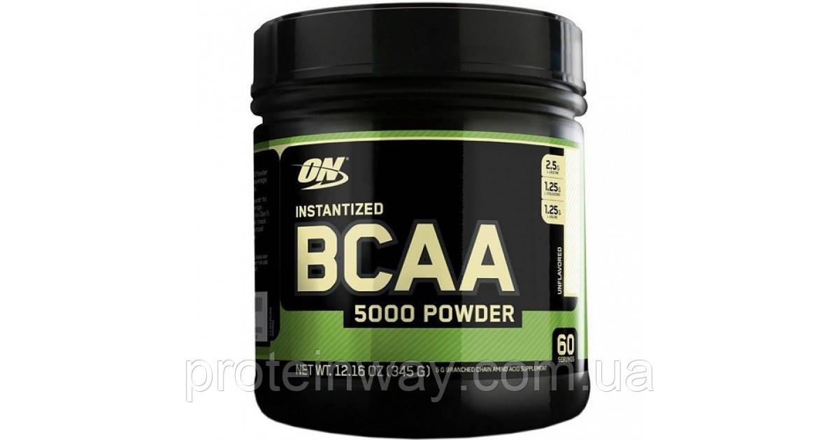 Optimum Nutrition Порошок BCAA 5000 Powder 345 г