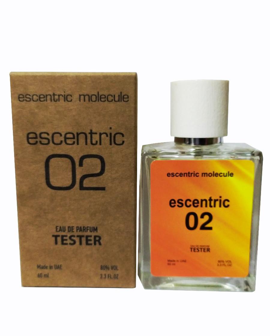 Тестер унисекс  Escentric Molecules Escentrice 02, 60 мл